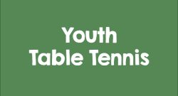 Youth Table Tennis