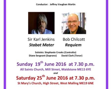Maidstone Singers 19 June All Saints